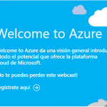 Cabecera Welcome to Azure